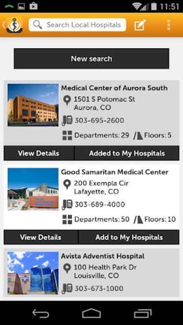 MyHospital screenshot 3