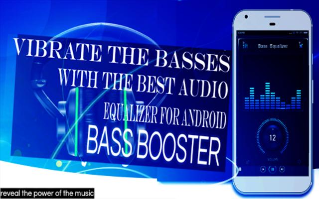 Music Equalizer Amplifier Volume Basse Booster screenshot 1