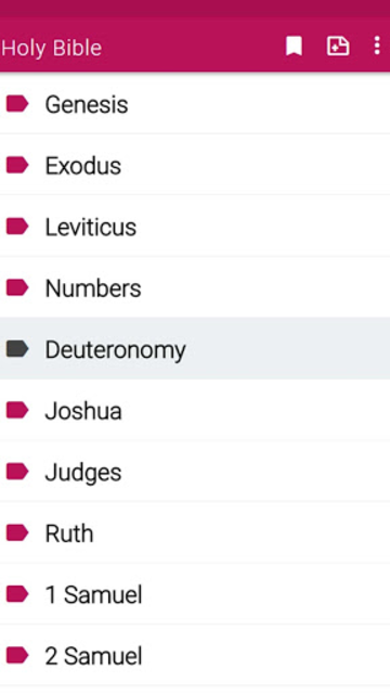 New King James Version Bible screenshot 27