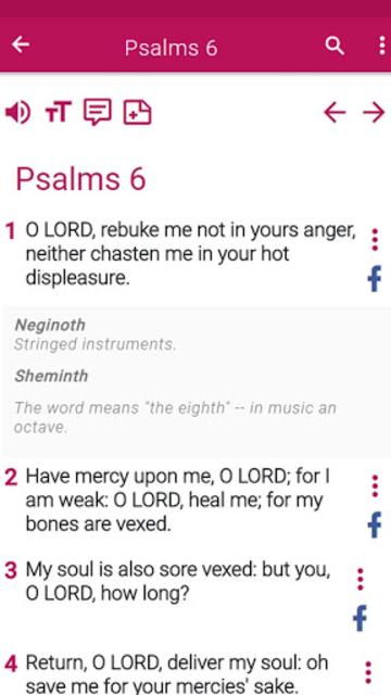 New King James Version Bible screenshot 30