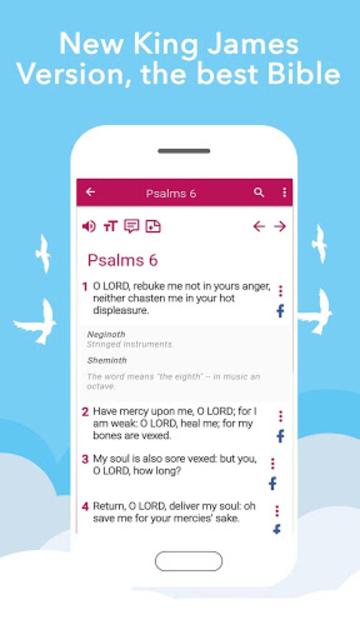 New King James Version Bible screenshot 31