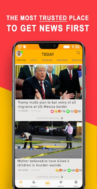 NOOX: Breaking News, Local News, National & World screenshot 1