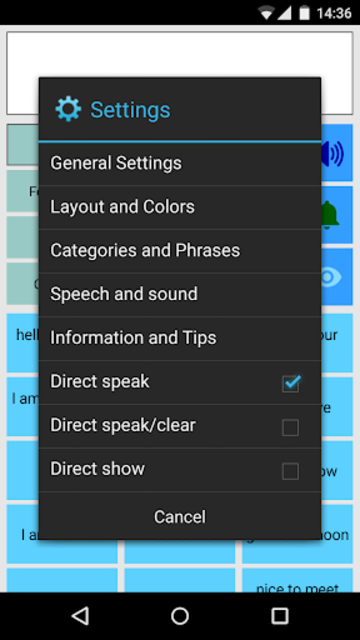 Speech Assistant AAC screenshot 3