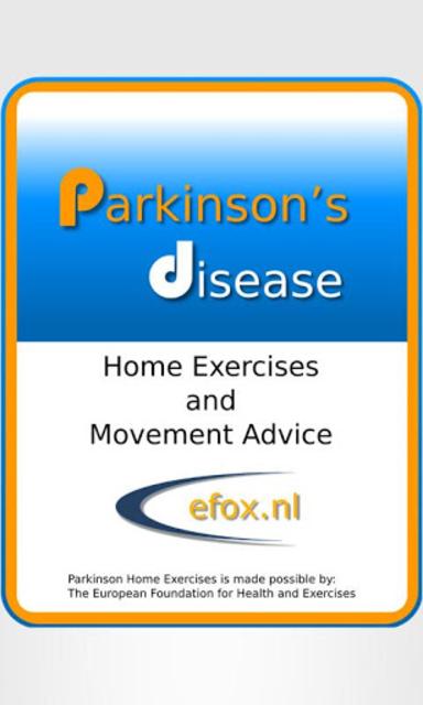 Parkinson Exercises Mobile screenshot 1