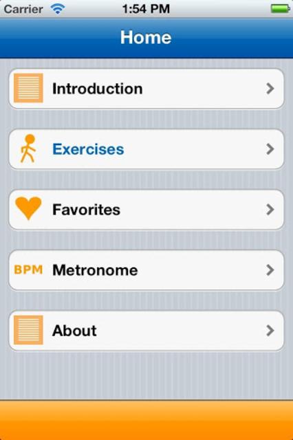 Parkinson Exercises Mobile screenshot 2