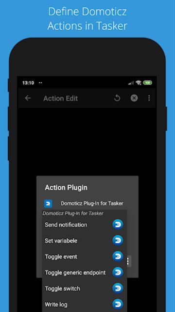 Domoticz Plug-In for Tasker screenshot 4