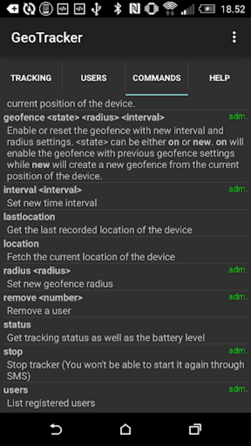TrackLoc Pro screenshot 3