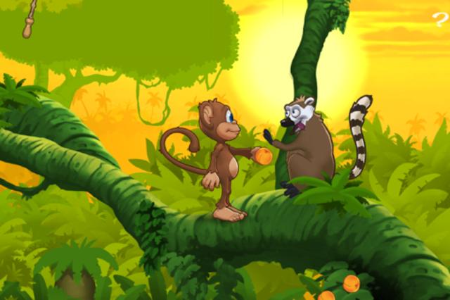 Ape på jungeleventyr screenshot 2
