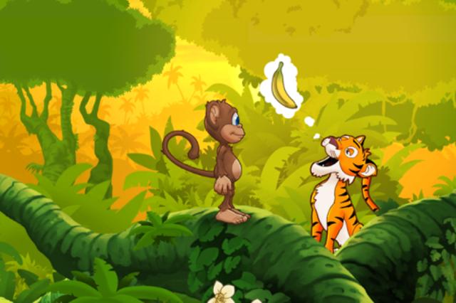 Ape på jungeleventyr screenshot 4