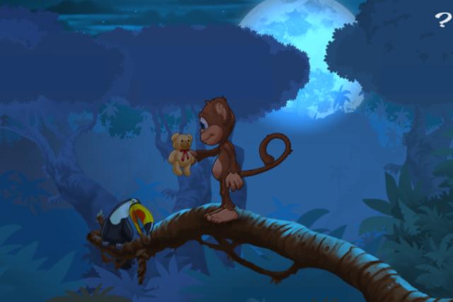 Ape på jungeleventyr screenshot 5
