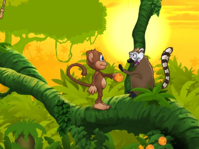 Ape på jungeleventyr screenshot 11