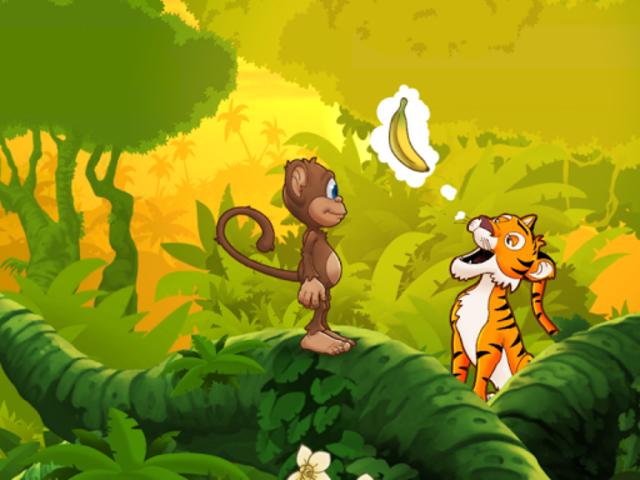 Ape på jungeleventyr screenshot 13
