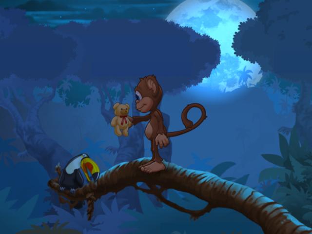 Ape på jungeleventyr screenshot 14