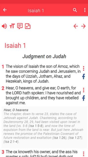 NRSV Bible app screenshot 32