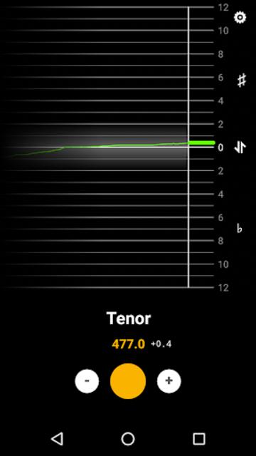 BeeFlat Bagpipe Tuner screenshot 1