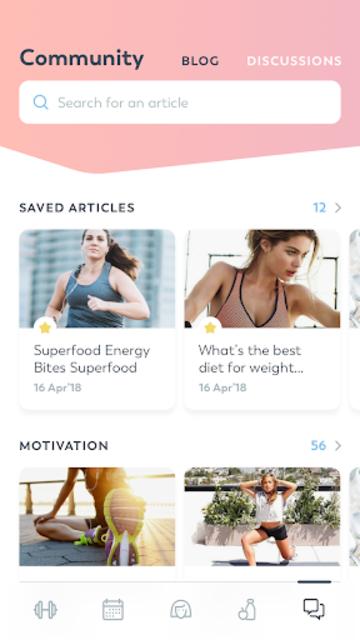 StrongHer: Female Fitness & Women Workout screenshot 8
