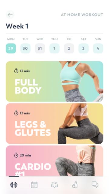 StrongHer: Female Fitness & Women Workout screenshot 2