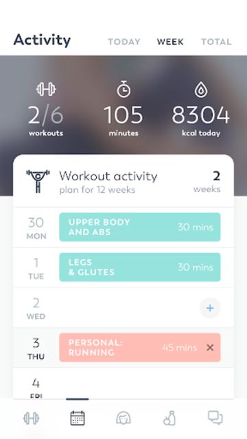 StrongHer: Female Fitness & Women Workout screenshot 5