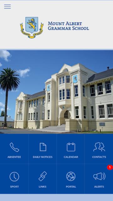 Mount Albert Grammar School screenshot 1