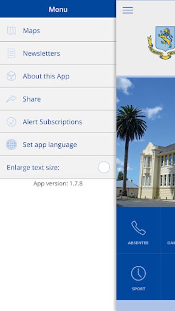 Mount Albert Grammar School screenshot 2