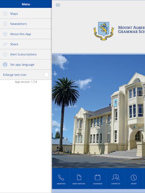 Mount Albert Grammar School screenshot 8
