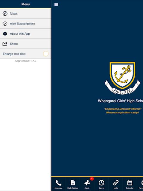 Whangarei Girls' High School screenshot 5