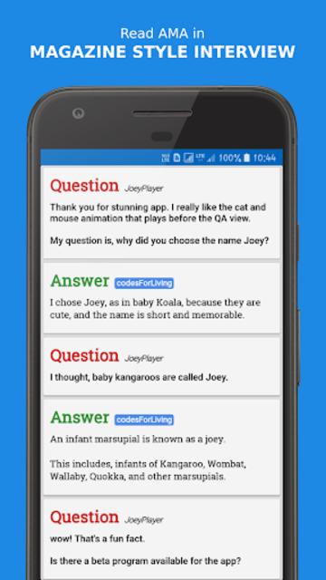 Joey for Reddit screenshot 1