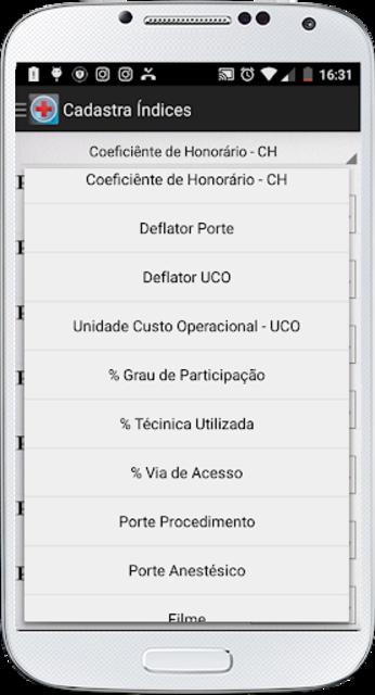 PMED - Preço de Procedimento Médico TUSS CBHPM AMB screenshot 2
