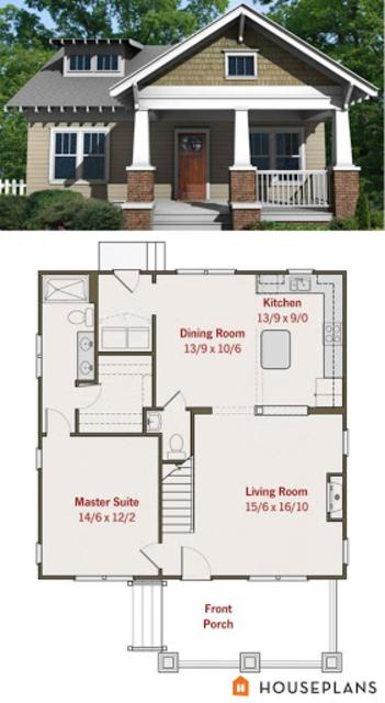 Small House Plans Ideas screenshot 21