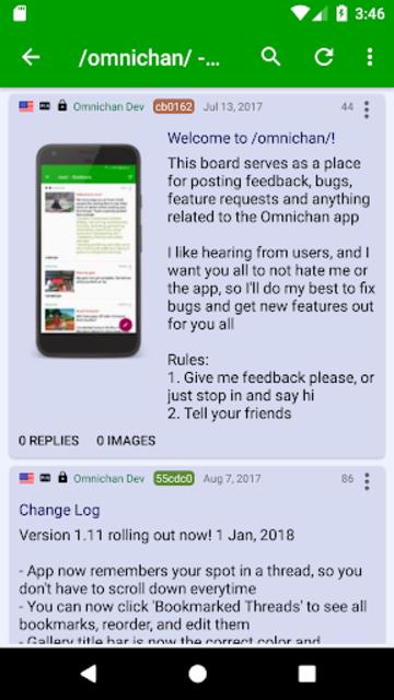 Omnichan Pro: 4chan and 8chan Client screenshot 5