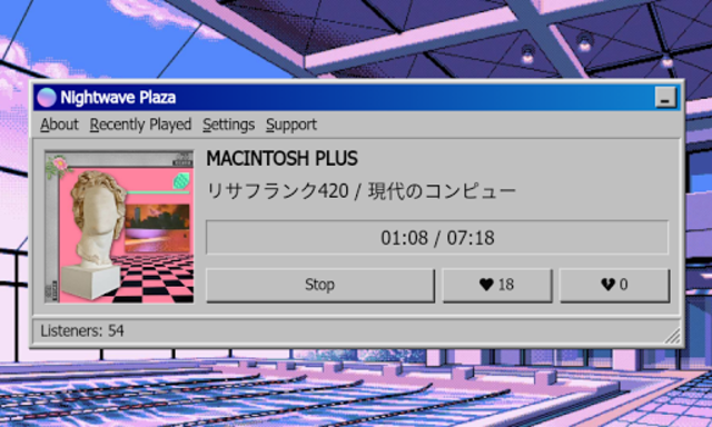 Nightwave Plaza screenshot 2