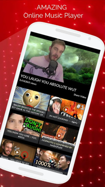 Free Music Video TV Show Film on Youtube screenshot 3