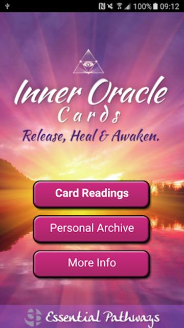 Inner Oracle Cards: Intuitive Card Readings screenshot 1