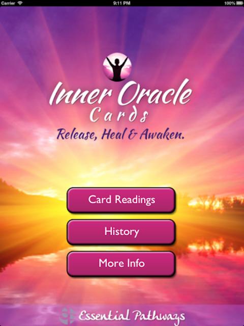 Inner Oracle Cards: Intuitive Card Readings screenshot 9