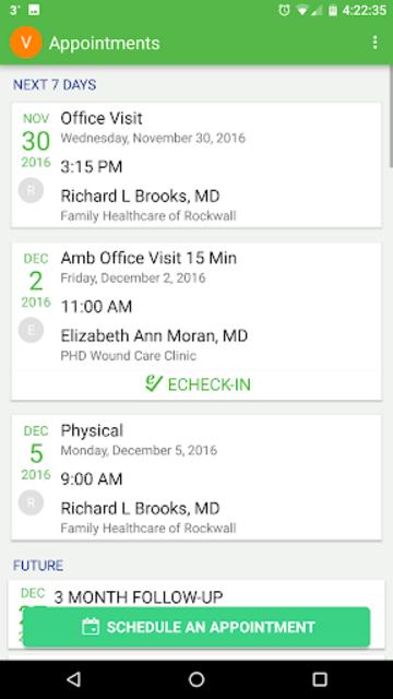 Texas Health MyChart screenshot 4
