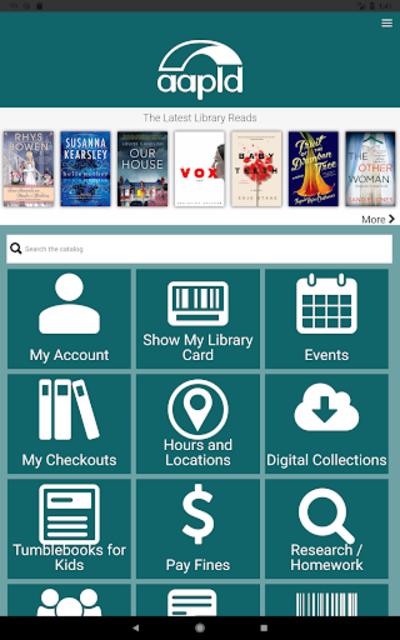 Algonquin Public Library screenshot 6