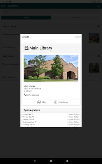 Algonquin Public Library screenshot 7