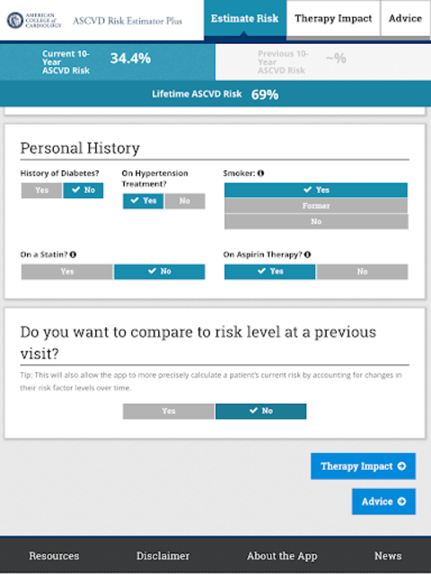 ASCVD Risk Estimator Plus screenshot 8
