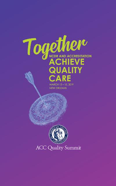 ACC Quality Summit screenshot 1