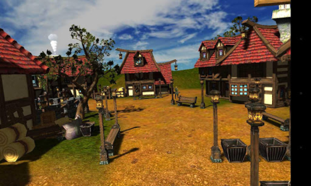 Village for Google Cardboard screenshot 1