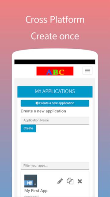 App Builder Create own app screenshot 3