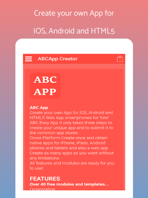 App Builder Create own app screenshot 6