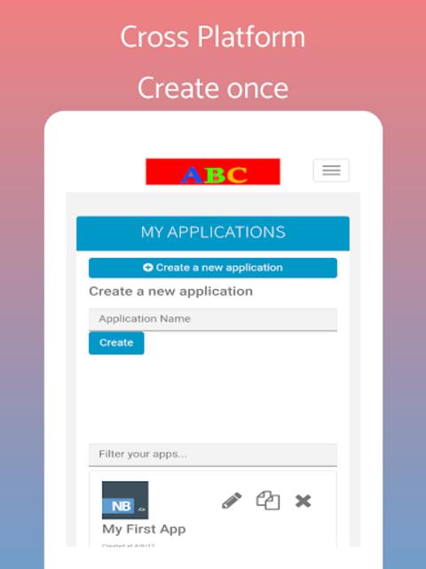 App Builder Create own app screenshot 8