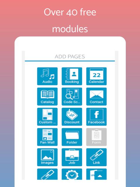 App Builder Create own app screenshot 9
