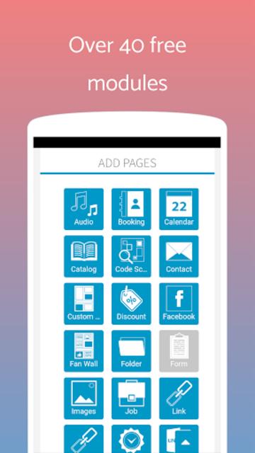 App Builder Create own app screenshot 14