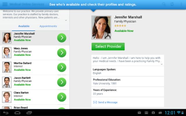 AultmanNow: Online Dr Visit! screenshot 10