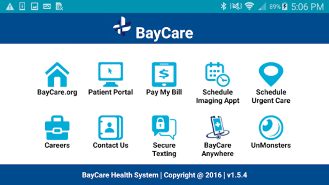 BayCare Health System screenshot 2