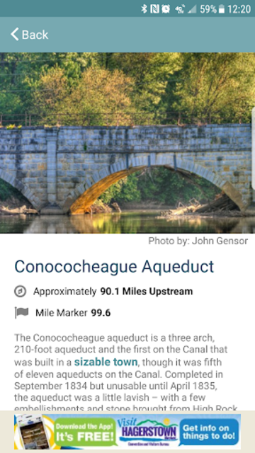 C&O Canal Explorer screenshot 3