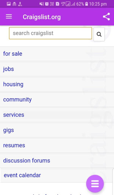 About: Craigslist org (Google Play version) | Craigslist org