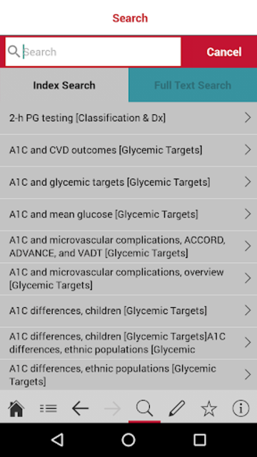 American Diabetes Association Standards of Care screenshot 4